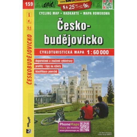 SHOCart 159 Českobudějovicko 1:60 000