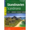 Freytag a Berndt Skandinávie 1:250 000 - 1:400 000 autoatlas (Norsko, Švédsko, Finsko...)