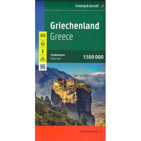 Freytag a Berndt Řecko 1:500 000 automapa
