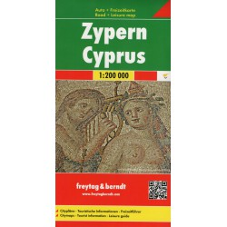 Freytag a Berndt Cyprus/Kypr 1:200 000 automapa
