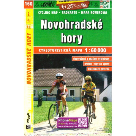 SHOCart 160 Novohradské hory 1:60 000