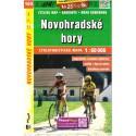 SHOCart 160 Novohradské hory 1:60 000 cykloturistická mapa
