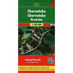 Freytag a Berndt Chorvatsko 1:500 000 automapa