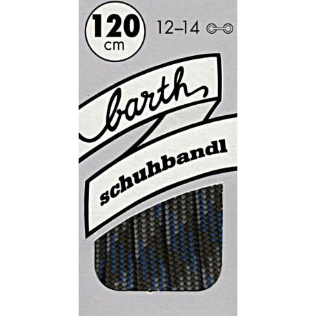 Barth Bergsport půlkulaté/120 cm/barva 191 tkaničky do bot