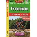 SHOCart 161 Třeboňsko 1:60 000 cykloturistická mapa