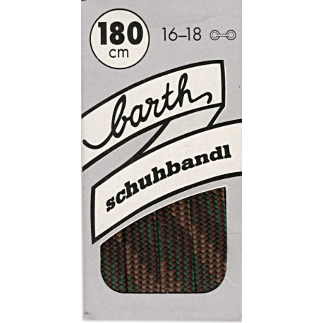 Barth Bergsport ploché/180 cm/barva 106 tkaničky do bot