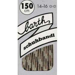 Barth Sport Extra Dick Rund Bunt kulaté extra silné/150 cm/barva 731 tkaničky do bot