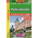 SHOCart 162 Pelhřimovsko 1:60 000 cykloturistická mapa