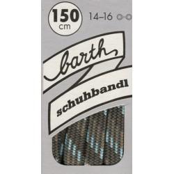 Barth Bergsport půlkulaté/150 cm/barva 293 tkaničky do bot