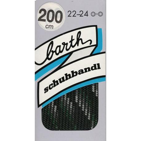 Barth Bergsport ploché/200 cm/barva 109 tkaničky do bot