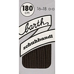 Barth Bergsport ploché uni/150 cm/barva 038 tkaničky do bot