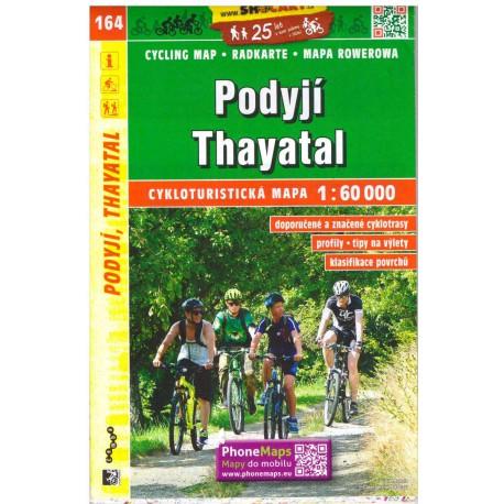SHOCart 164 Podyjí, Thayatal 1:60 000