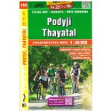 SHOCart 164 Podyjí, Thayatal 1:60 000 cykloturistická mapa