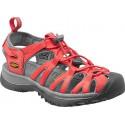Keen Whisper W hot coral/neutral gray dámské outdoorové sandály i do vody
