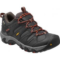 Keen Koven Low WP M raven/red clay pánské nízké nepromokavé boty