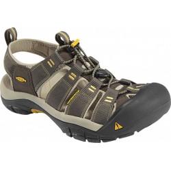 Keen Newport H2 M raven/aluminium pánské outdoorové sandály i do vody