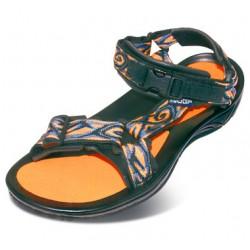 Triop Aqua 01 oranžová/šedá unisex sandály i do vody
