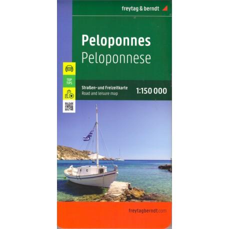 Freytag a Berndt Peloponés 1:150 000 automapa