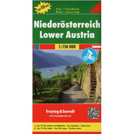 Freytag a Berndt Dolní Rakousko 1:150 000 automapa