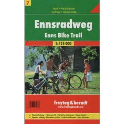 Freytag a Berndt 4 Salzkammergut Radweg 1:125 000
