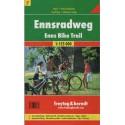 Freytag a Berndt 7 Ennsradweg 1:125 000 cykloturistická mapa