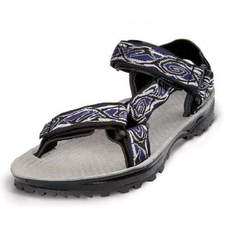 Triop Terra Trek K 01 modrá/šedá/černá unisex sandály