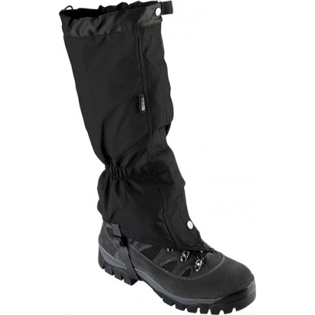 Trekmates Cairngorm Velcro GTX černá turistické nepromokavé návleky Cordura