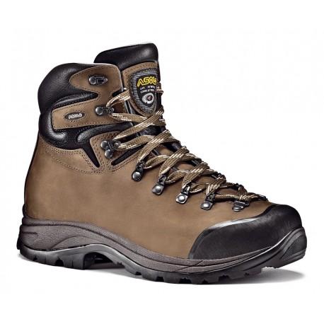 Asolo Fandango GV MM GTX brown pánské nepromokavé kožené trekové boty