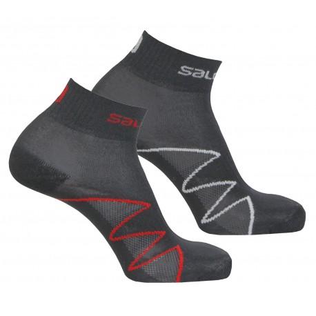 Salomon XA Pro 2 Pack black/red 351564 sportovní ponožky