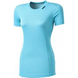 Progress Micro Sense MS NKRZ světle modrá dámské triko krátký rukáv