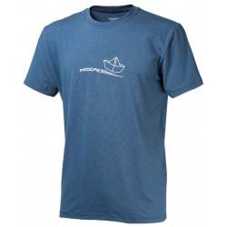 Progress Barbar modrá pánské triko krátký rukáv bambus