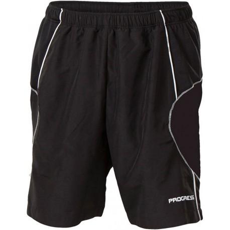 Progress Flexi černá pánské sportovní šortky
