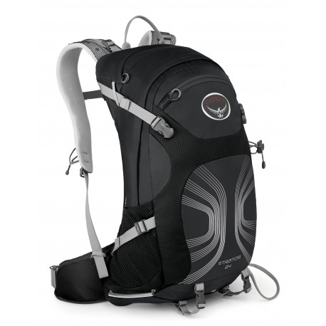 Osprey Stratos 26 M/L anthracite black turistický batoh