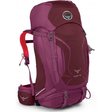 Osprey Kyte 46 WS/WM purple calla dámský turistický batoh