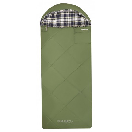 Husky Kids Galy -5°C zelená dětský třísezónní dekový spací pytel Invista Hollowfibre 4 (1)