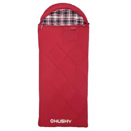 Husky Kids Galy -5°C červená dětský třísezónní dekový spací pytel Invista Hollowfibre 4 (1