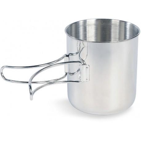 Tatonka Handle Mug 600 ml nerezový hrnek sklopná ucha stupnice