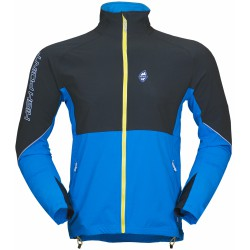 High Point Gale Jacket black/blue pánská softshellová bunda (1)