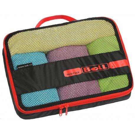 Boll Pack-It-Sack L černá/červená cestovní pouzdro