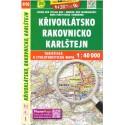 SHOCart 416 Křivoklátsko, Rakovnicko, Karlštejn 1:40 000 turistická mapa