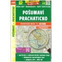 SHOCart 439 Pošumaví, Prachaticko 1:40 000 turistická mapa