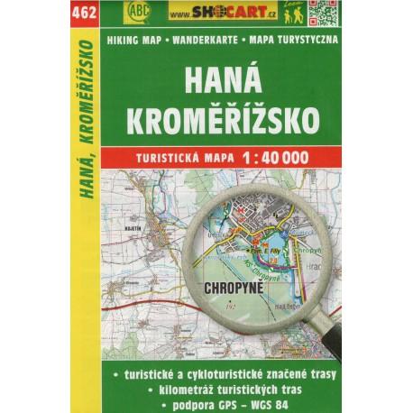 SHOCart 462 Haná, Kroměřížsko 1:40 000 turistická mapa