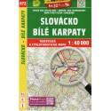 SHOCart 472 Slovácko, Bílé Karpaty 1:40 000 turistická mapa