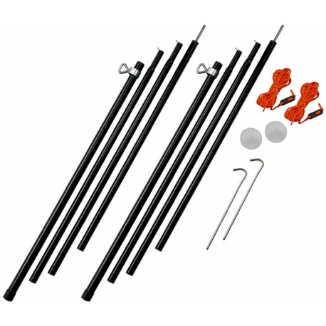 Vango Adjustable Steel King Poles 180-220 cm vzpěry ke stanu