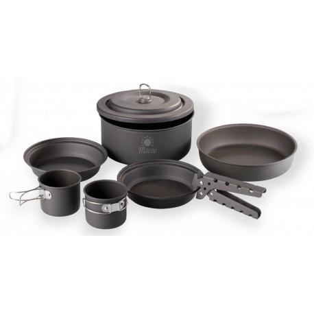 Meva Campingové nádobí - Set kempingové nádobí Alu