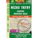 SHOCart 475 Nízké Tatry - Chopok, Král´ova Hol´a  1:40 000 turistická mapa