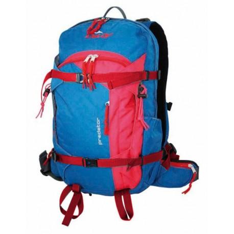 Doldy Predator 29 Cordura modrá/červená skialpinistický batoh