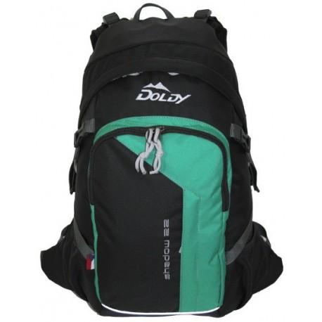 Doldy Shadow 22 zelená/modrá městský batoh