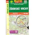 SHOCart 449 Žďárské vrchy 1:40 000 turistická mapa