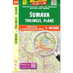 SHOCart 435 Šumava, Trojmezí, Pláně  1:40 000